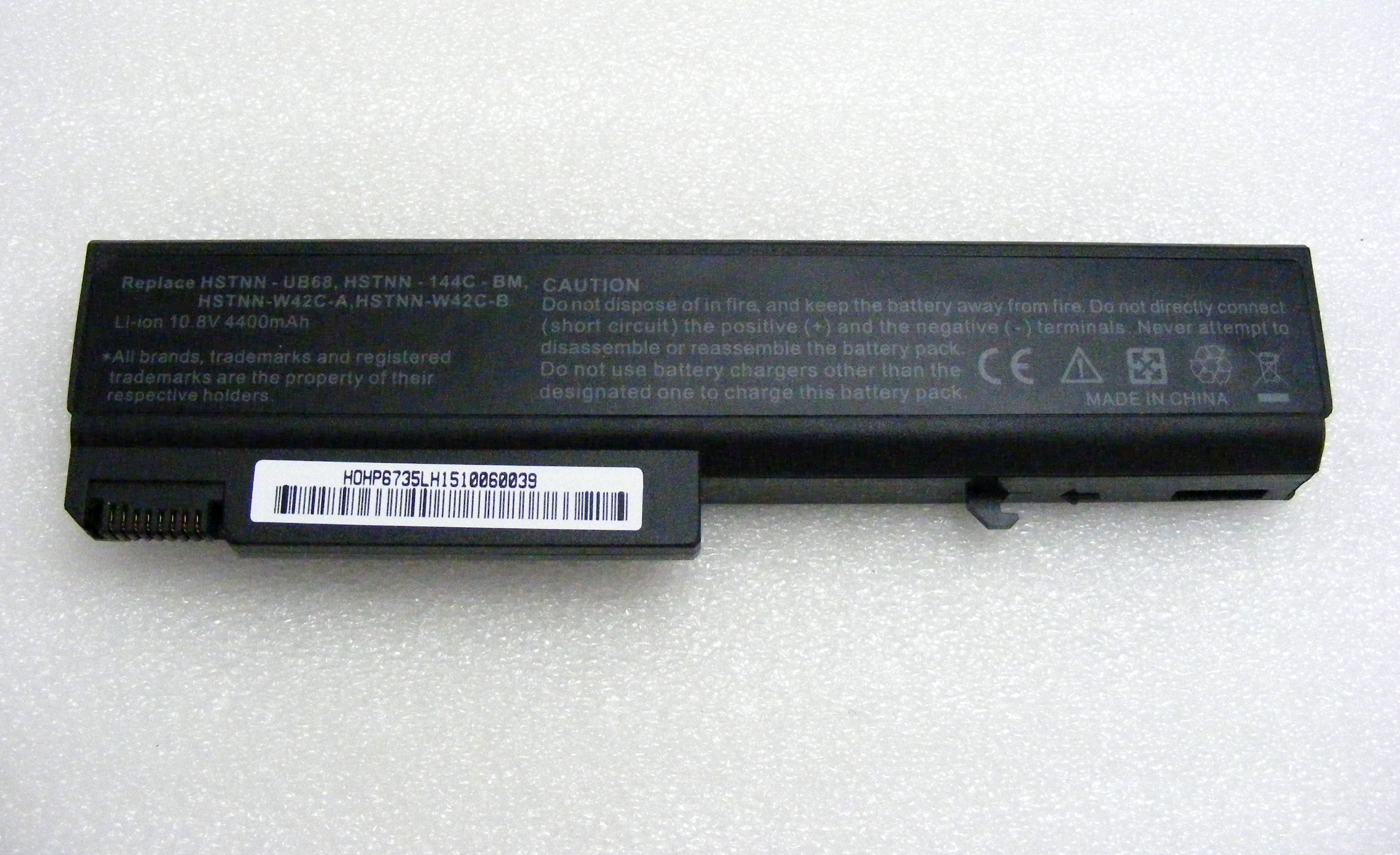 681a525c6907 Új utángyártott laptop akkumulátor, HP 6730b, 6535b 10,8V 4400mAh