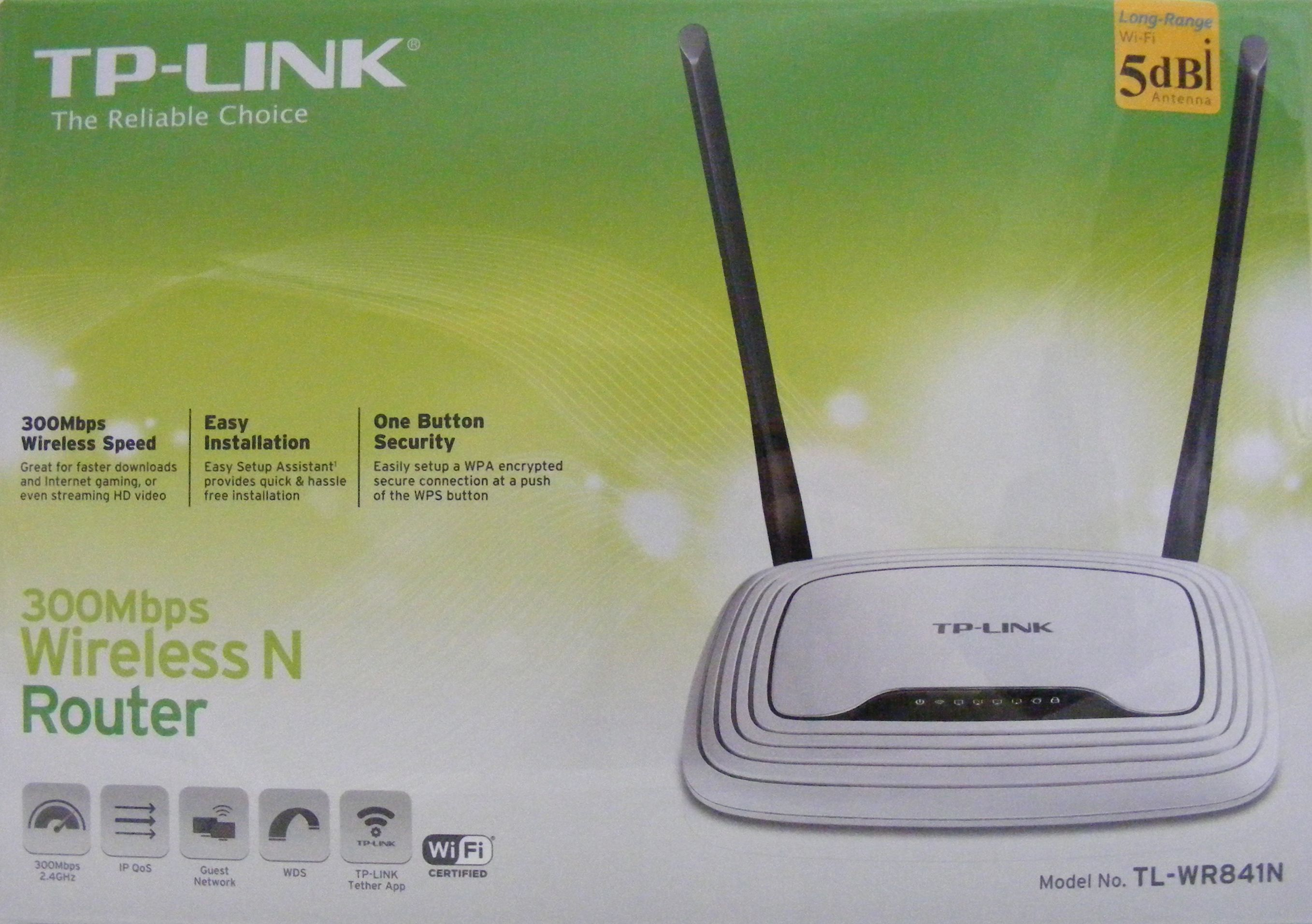 TP-LINK 300Mbps wireless router, WIFI router